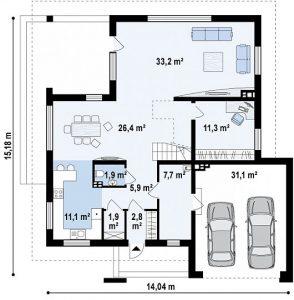 Tipski načrti stanovanjskih hiš