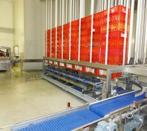 automated warehousing logistics system