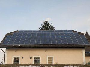 sončna elektrarna za samooskrba