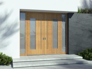 Lesena vrata Pirnar