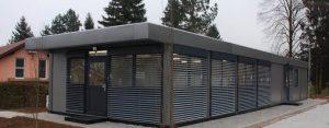 Modular office units