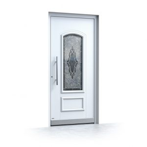 Haustüren Alu weiß