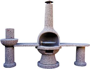kamini iz betona